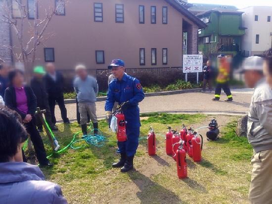 2014.3.9 地元の防災訓練でした(*^_^*)