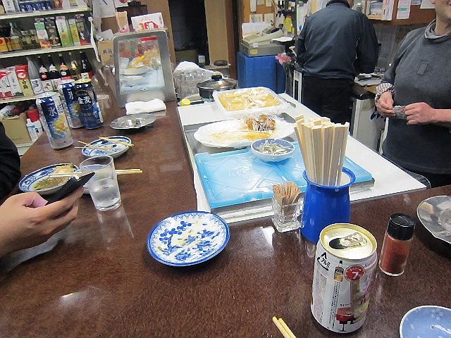 2014.4.9 戸田酒店でいかなごと山菜とか旬をいただきました(^^♪