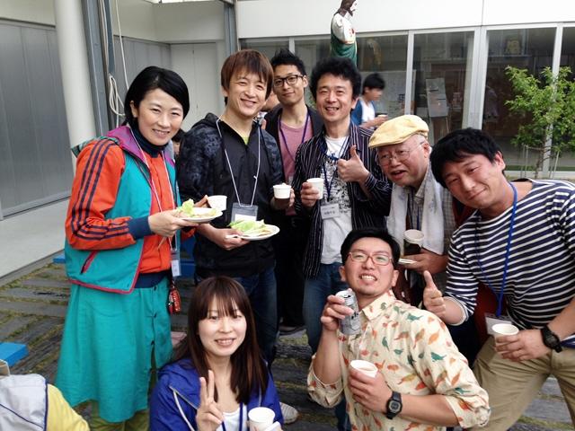 2014.4.26 FMわぃわぃ『ゆうかりに乾杯』5周年の集い(^^♪