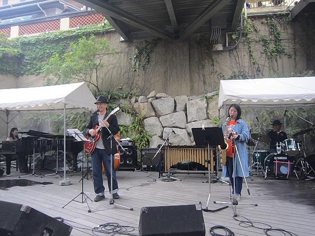 """2014.5.5 モザイクジャズフェス。神戸ジャズ界の""""偉大なる父""""登場です!"""