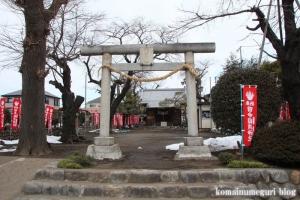 田中稲荷神社(昭島市田中町)1