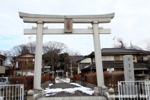 日吉神社(昭島市拝島町)1