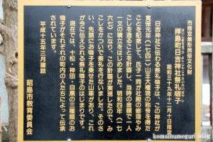 日吉神社(昭島市拝島町)11
