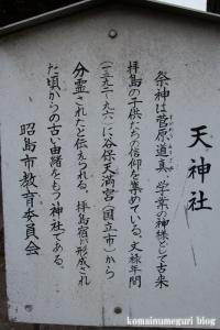 拝島天神社(昭島市拝島町)10
