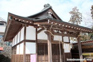 久保熊野神社(あきる野市小川)8