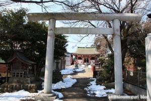 野辺八雲神社(あきる野市野辺)4