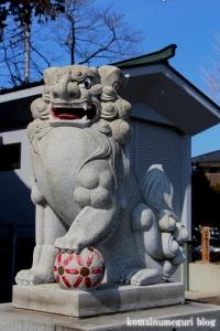 野辺八雲神社(あきる野市野辺)10