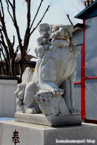 野辺八雲神社(あきる野市野辺)11