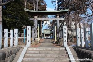 熊野神社(あきる野市小川)1
