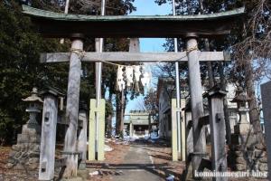 熊野神社(あきる野市小川)2