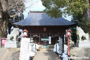 熊川神社(福生市熊川)14