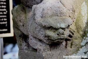 熊川神社(福生市熊川)39