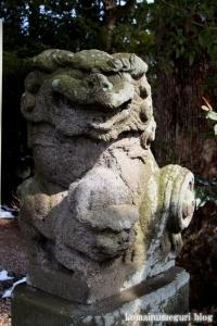 熊川神社(福生市熊川)31