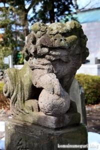 熊川神社(福生市熊川)35