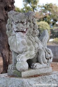 阿豆佐味天神社(立川市西砂町)4