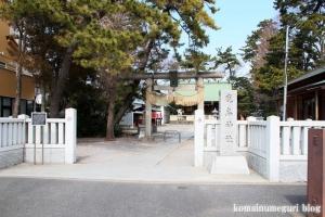 鹿島神社(江戸川区鹿骨)1