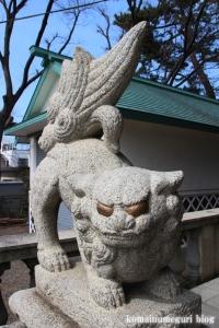 鹿島神社(江戸川区鹿骨)24