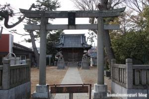 八幡神社(江戸川区北小岩)1