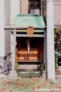 森稲荷神社(中央区佃)2