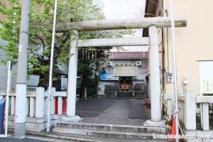 金刀比羅神社(中央区新川)1
