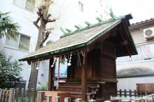 金刀比羅神社(中央区新川)4