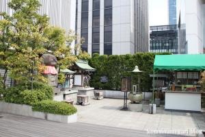 三囲神社摂社(中央区銀座)2