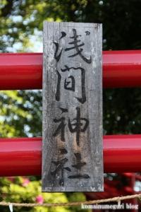 浅間神社(さいたま市大宮区浅間町)2