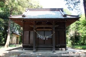 染谷氷川神社(さいたま市見沼区染谷)5