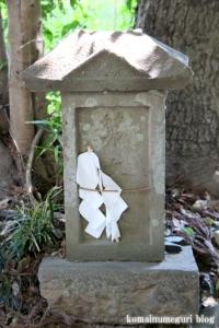 染谷氷川神社(さいたま市見沼区染谷)9
