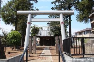 神明神社(さいたま市見沼区南中丸)1