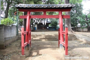 天沼神社(さいたま市大宮区天沼町)3