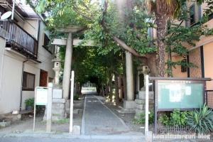 一之宮神社(横浜市神奈川区入江)1