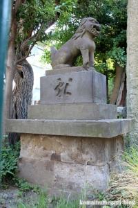 一之宮神社(横浜市神奈川区入江)10