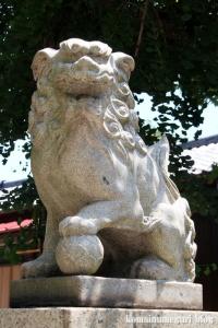 神明社(横浜市鶴見区馬場)4