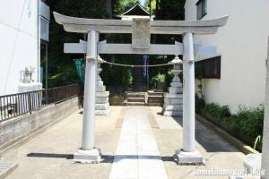 稲荷社(横浜市鶴見区駒岡)3