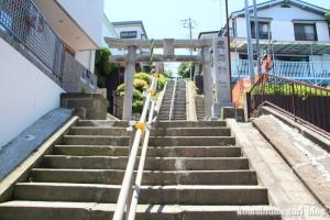 愛宕神社(横浜市鶴見区下末吉)1