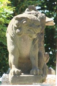 熊野神社(横浜市鶴見区寺谷)16
