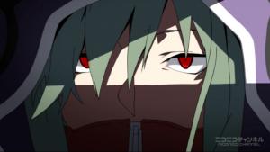 アニメ3話 キドの赤い目