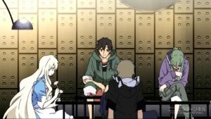 アニメ3話 落ち込むキドさん