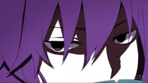アニメ3話 怒っているキド アジト
