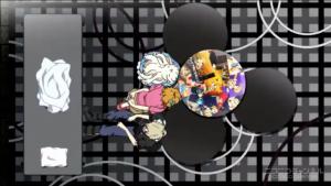 アニメ3話 アジトのテーブル