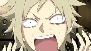 アニメ3話 カノがキドにやられた