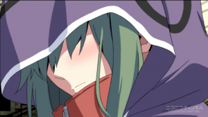 アニメ3話 キドが照れてる