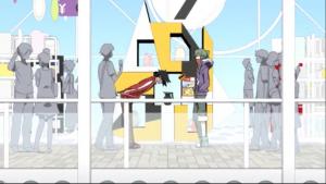 アニメ3話 シンタローとキド