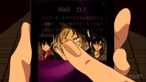 アニメ3話 メールの内容1