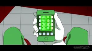 アニメ3話 ロック解除前