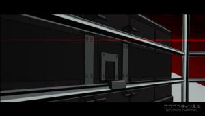 アニメ3話 テレビのロック解除シーン