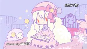 アニメ3話 マリーのエンドカード
