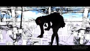 アニメ4話 アヤノの赤い目