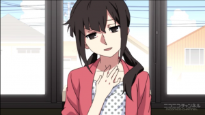 アニメ4話 ヒヨリ、コノハに一目ぼれ
